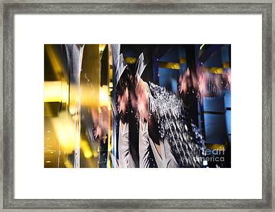 Break On Through To The Other Side Framed Print by Thomas Carroll