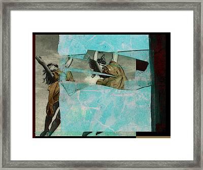 Break The Sky Framed Print by Adam Kissel