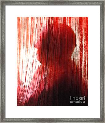 Break Through 04 - Other Side Profile Framed Print by Sean-Michael Gettys