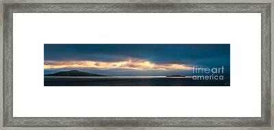 Break Through Framed Print by Andy Wu