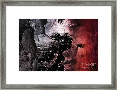 Break Through Framed Print