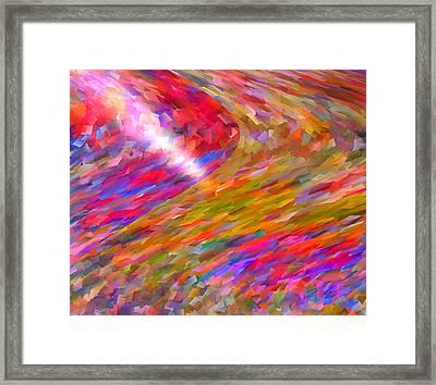Break Through Framed Print by Michael Durst