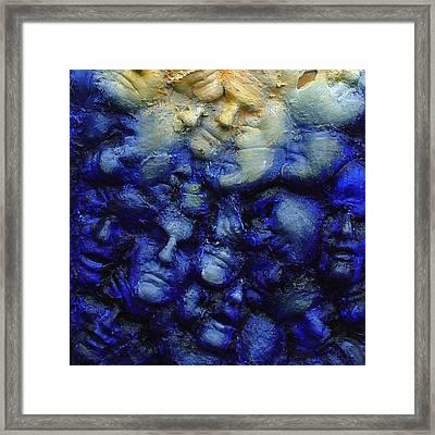 Breakaway - Detail Framed Print by Rosemary Wessel