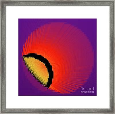 Breakaway Framed Print