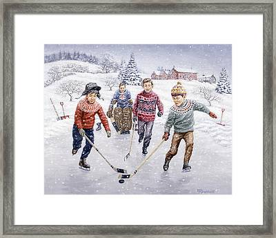 Breakaway Framed Print by Richard De Wolfe