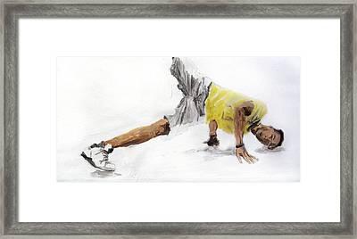 Breakdance 4 Framed Print by Jani Heinonen