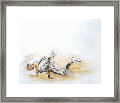 Breakdance 4 / Part Of Dubai Street Festival Collection Framed Print by Jani Heinonen