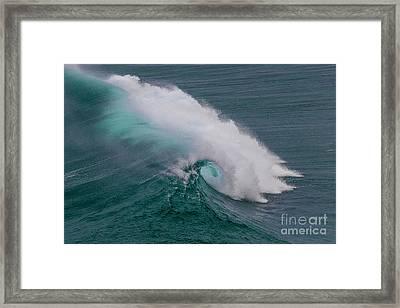 Breaker Framed Print