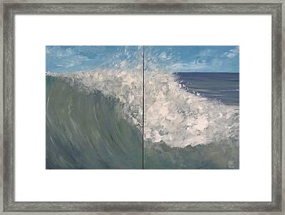 Breaker Ll Framed Print by Pete Maier