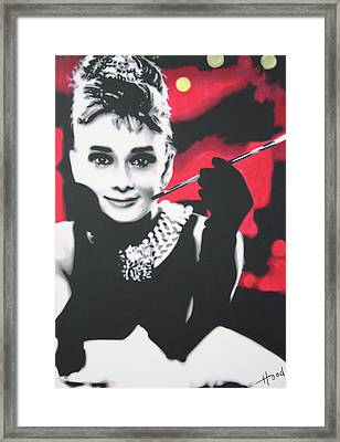 Breakfast At Tiffannys Framed Print