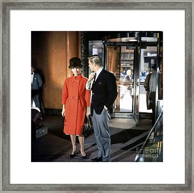 Breakfast At Tiffany's Promotional Photo Framed Print by The Titanic Project