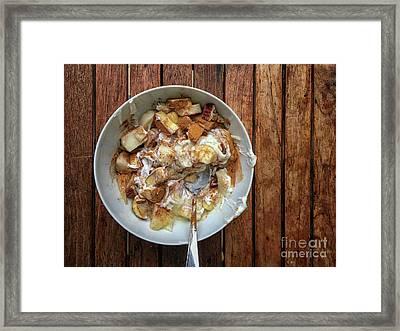 Breakfast Bowl Framed Print