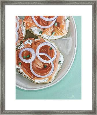 Breakfast Delight Framed Print
