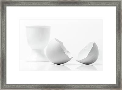 Breakfast Egg. Framed Print