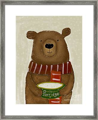 Breakfast For Bears Framed Print by Bri B