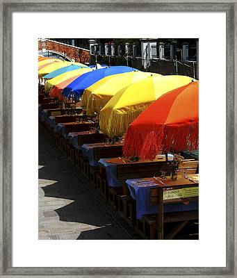 Breakfast Is Served Framed Print by Joseph Reilly