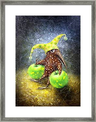 Breakfast On The Grass Framed Print by Lolita Bronzini