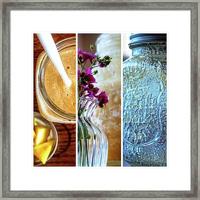 Breakfast Options Framed Print