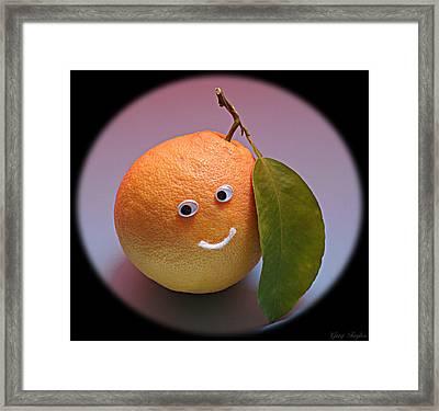 Breakfast Smile Framed Print by Greg Taylor