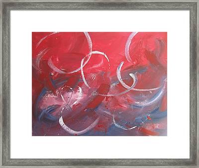 Breakin Hearts Framed Print by Pete Maier