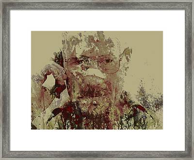 Breaking Bad Walter White 6m Framed Print by Brian Reaves