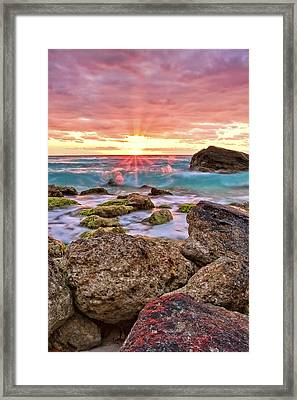 Breaking Dawn Framed Print by Marcia Colelli