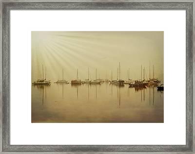 Breaking Dawn Framed Print by Marilyn Wilson