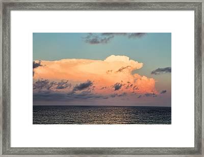 Breaking Dawn Over Gulf Framed Print