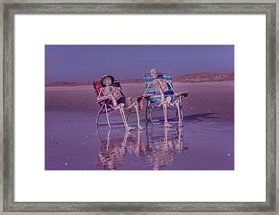 Breaking From The Norm Framed Print