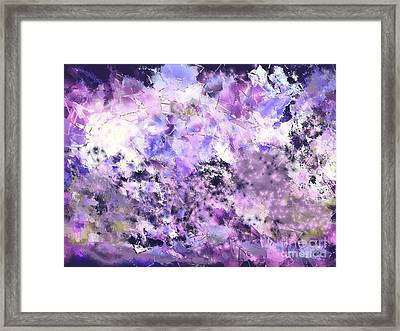 Breaking New Ground Framed Print by Roxy Riou