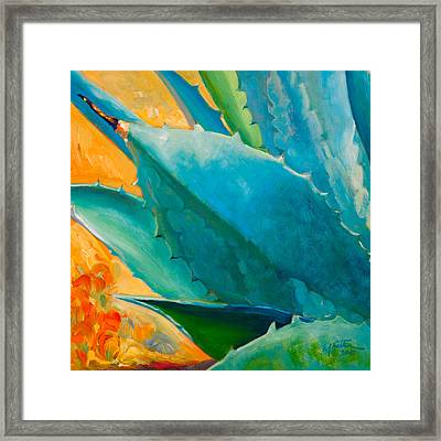 Breaking Out Framed Print by Athena  Mantle