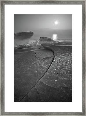 Breaking Point Framed Print by Davorin Mance