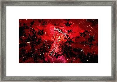 Breaking The Silence 777 Framed Print
