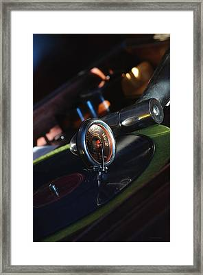Breaking The Sound Barrier... Framed Print