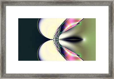 Breaking The Sound Barrier Framed Print by Thomas Smith