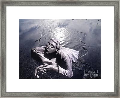 Breaking Through 2 Framed Print by Lyric Lucas