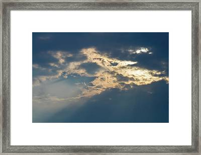 Breaking Through Framed Print by Terry Davis