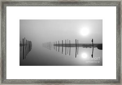 Breaking Through The Fog Framed Print