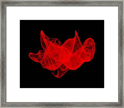 Breaking Wave II Framed Print