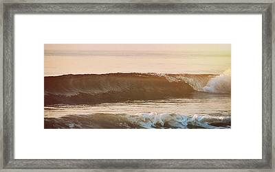 Breaking Wave Framed Print by JAMART Photography