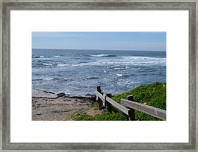 Breaking Waves Framed Print by Brianna Culbertson