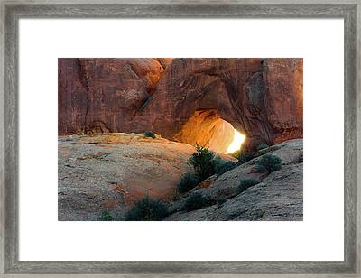Breakthrough - By Thomas Schoeller Framed Print by Thomas Schoeller