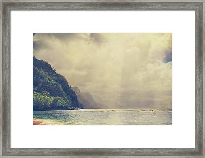 Breakthrough Framed Print by Laurie Search