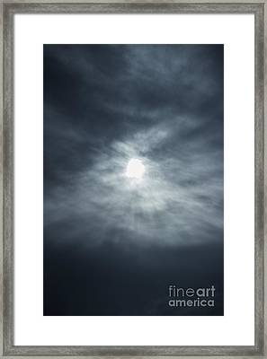 Breakthrough Sky Framed Print