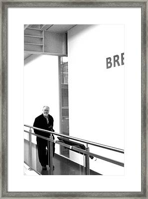 Breard Framed Print by Jez C Self