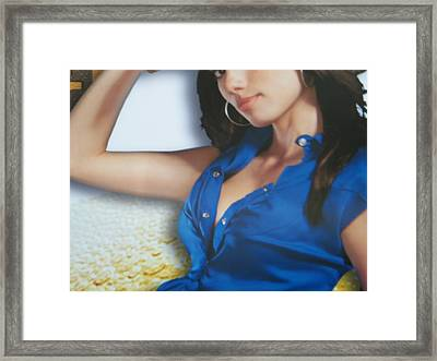 Breasts--america The Addicted Series Framed Print