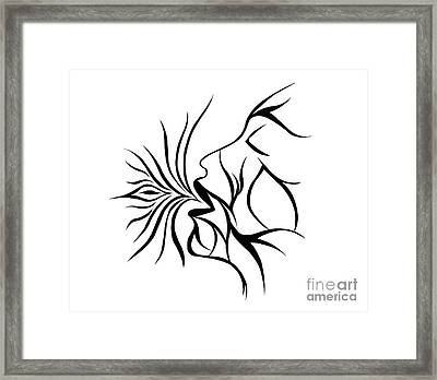 Breath Easy  Framed Print