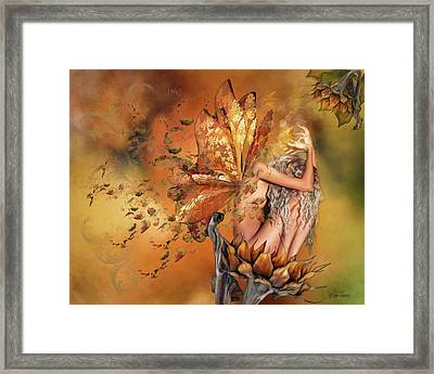 Breath Of Autumn Framed Print