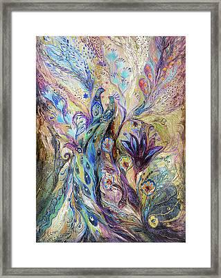 Breath Of Breeze Framed Print by Elena Kotliarker