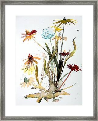 Breath Of Life Framed Print by Mindy Newman
